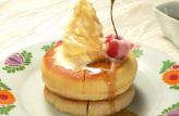 再現!コメダのシロノワール風パンケーキ