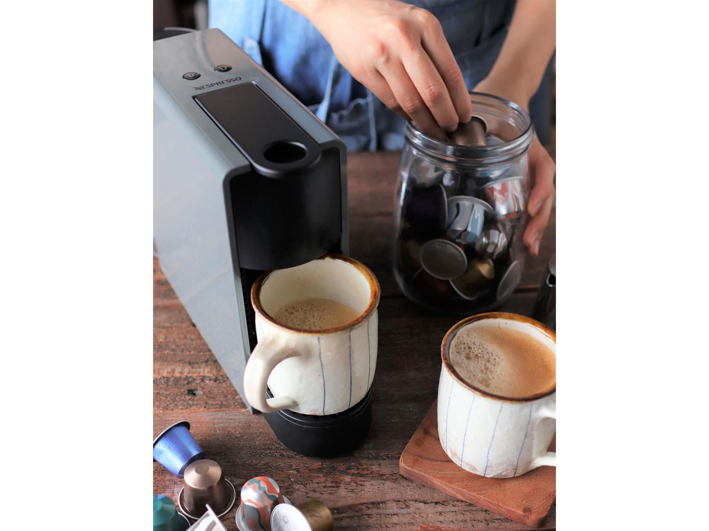 ネスプレッソ「エッセンサ」で作るコーヒーは専門店並みの美味しさ!