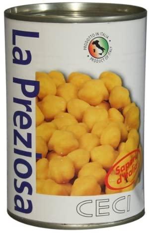 ラ・プレッツィオーザ ひよこ豆(ガルバンゾー)水煮缶400g