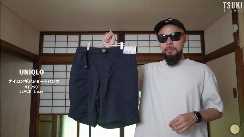 夏は涼しくおしゃれが正解◎【ユニクロ】1990円の「撥水ショートパンツ」《動画》